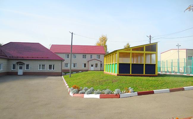 Территория пансиона